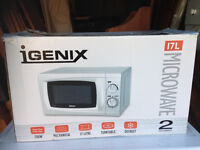 For sale Igenix IG1907 17 litre microwave, as good as new,..
