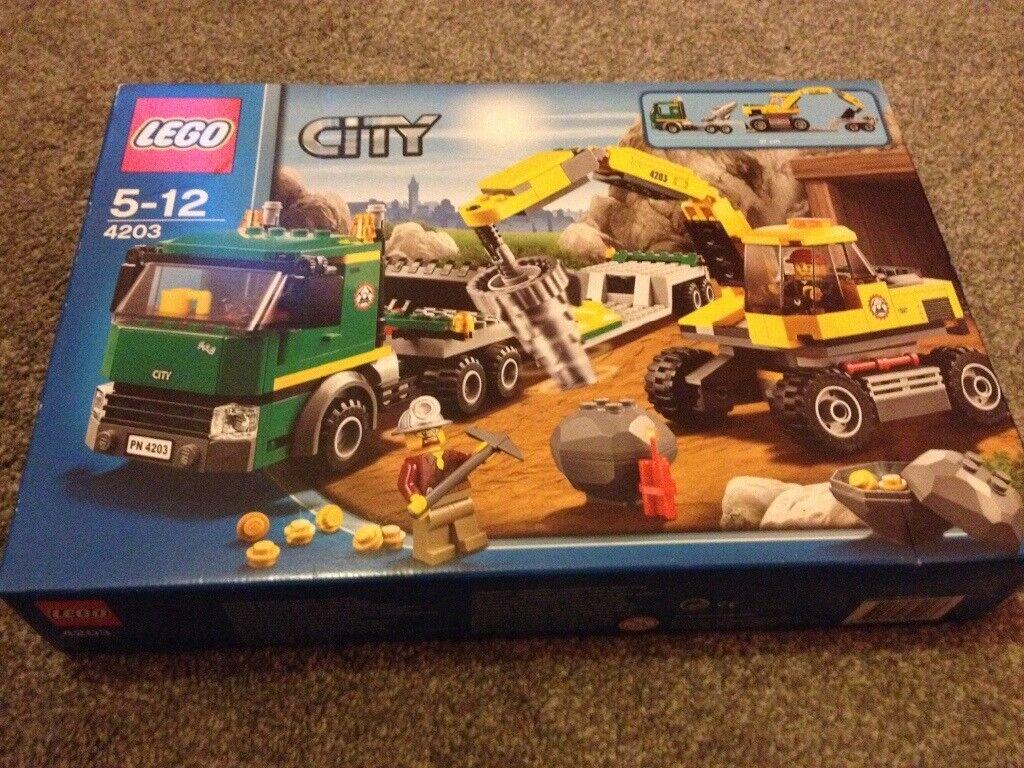 Brand new Lego Excavator set