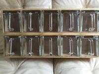 Ikea kitchen storage unit jars