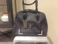 Brand New Designer Guess Bag in Grey