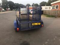 Two trailers for sale one with ramp