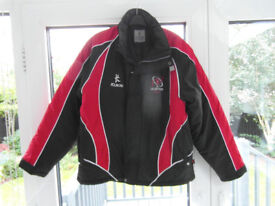 Size 40 inches Ulster Rugby KUKRI Insulated Coat. Worn twice.