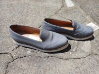Pair of Ladies Size 5 Red Tape Slip on Grey Shoes..