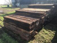 Hardwood Railway Sleepers