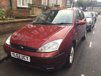 REDUCED4QUICKSALE Ford Focus 1.6 Petrol manual, 48,000miles, 6 months MOT, 3 careful owners, tow bar