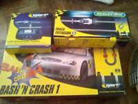 Scalextric Bash N Crash Set .Plus Extras