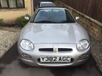2001 MG MGF CONVERTIBLE SILVER ONLY 41K RARE COLLECTORS CLASSIC