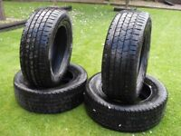 TIRES - BRAND NEW SET OF CONTINETAL 4X4 TIRES 265/60 R18