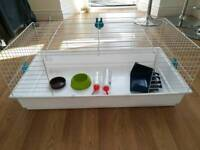 Large cage - perfect for Guinea Pigs, Hamsters, small Rabbits