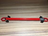 Bicycle Cross Bar Converter. enables Ladies and Sports bicycles to fit onto carrier rack.