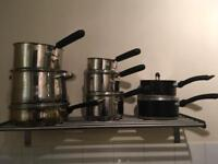 Pans and utensils for sale