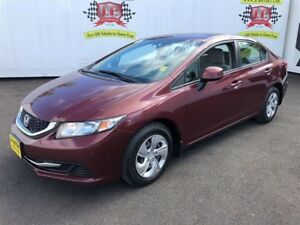 2013 Honda Civic LX, Automatic, Bluetooth, Only 90, 000km