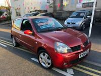 2006 06 Renault Clio 1.1 campus, long mot just 86k