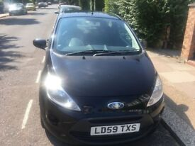Ford KA Black, good condition 2 previous owners