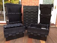 Hire Plastic Moving Boxes - Free Delivery & Collection - 10 Boxes Just £29.99 For 7 Days
