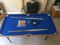 4ft 6 folding pool table BRAND NEW