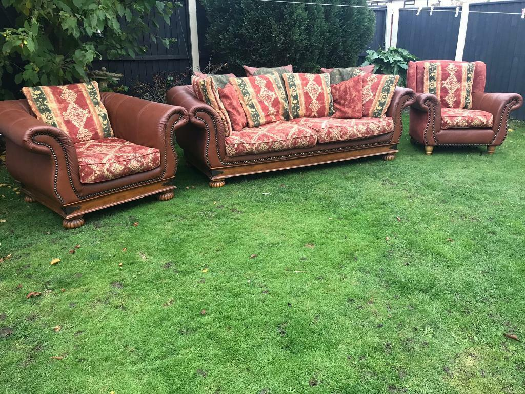 Vintage Chesterfield Sofa Suite Can Deliver Locally In West Derby - Derby-chesterfield-sofa