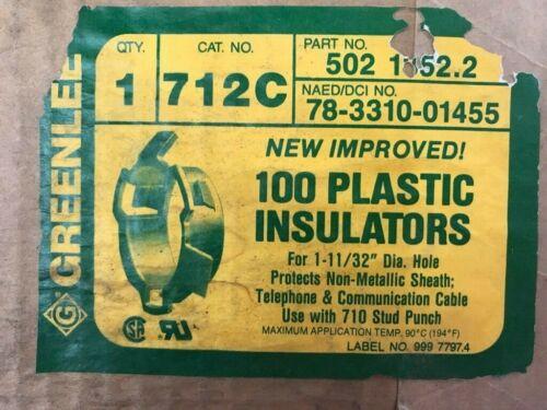 Greenlee Bushing Universal Stud 712c - Box Of 100