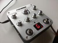Fishman Aura Mic Sim, DI box, EQ, Compressor, Tuner ++... Total acoustic guitar solution