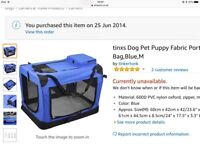 Travel cage for a smaller dog