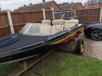 Boat fletcher 60hp