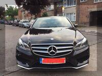 Mercedes Benz E Class E220 BLUETEC AMG LINE (PCO Uber Exe Reg)