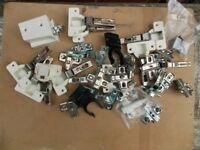 Job lots of kitchen cupboard fixings