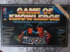 GAME OF KNOWLEDGE BOARD GAME