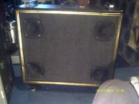 "15"" , 100 WATT , 8 OHM SPEAKER in SUPERB PROFESSIONAL CABINET with HANDLES & WHEELS"