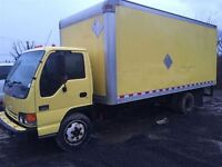 2004 GMC Sierra 3500 Cab-Chassis W5500 DIESEL CUBE BAS KILOMETRA