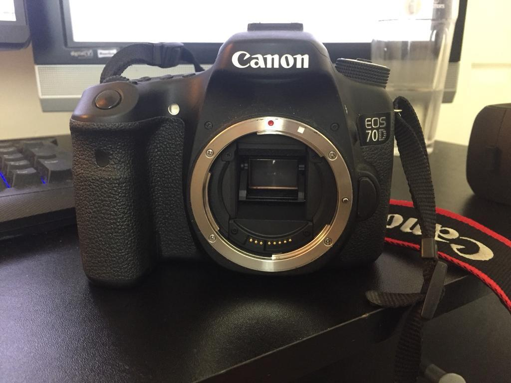 Canon Eos 70d Camera Body In Bowburn County Durham Gumtree