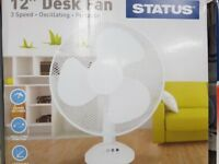 12 Inch Fans (NEW) - Only Few Left In Stock
