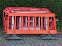 Plastic Road Barrier Fencing Partition