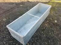 Brand new 5ft galvanised field paddock water trough