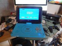 "Koolertron 11.2"" LCD TFT Portable DVD Player Multi Regio - 180° Rotating"