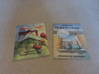 2 x First Edition hardback books by Susan Hill – Mother's Magic & One night at a Time.