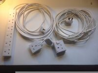 Extension cords and power strips