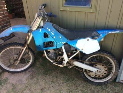 Yamaha YZ125 Trial Bike