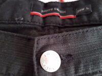 Pierre Cardin Black Trouser/jean 34 waist