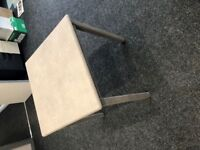 Kitchen Table - Concrete Style Finish 69cm Square