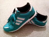 WOMEN'S TRAINERS*** ADIDAS*** TURQUOISE COLOR