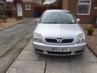 Silver Vauxhall Vectra C, 1.8L Petrol, Fantastic Condition, Low Mileage!!