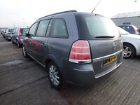 Vauxhall Zafira B 1.9 CDTI 8 valve 06 plate 45000 miles breaking for spares.