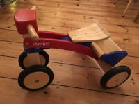 Pintoy Wooden Pick Up Trike