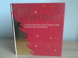 New hardback Christmas recipes book