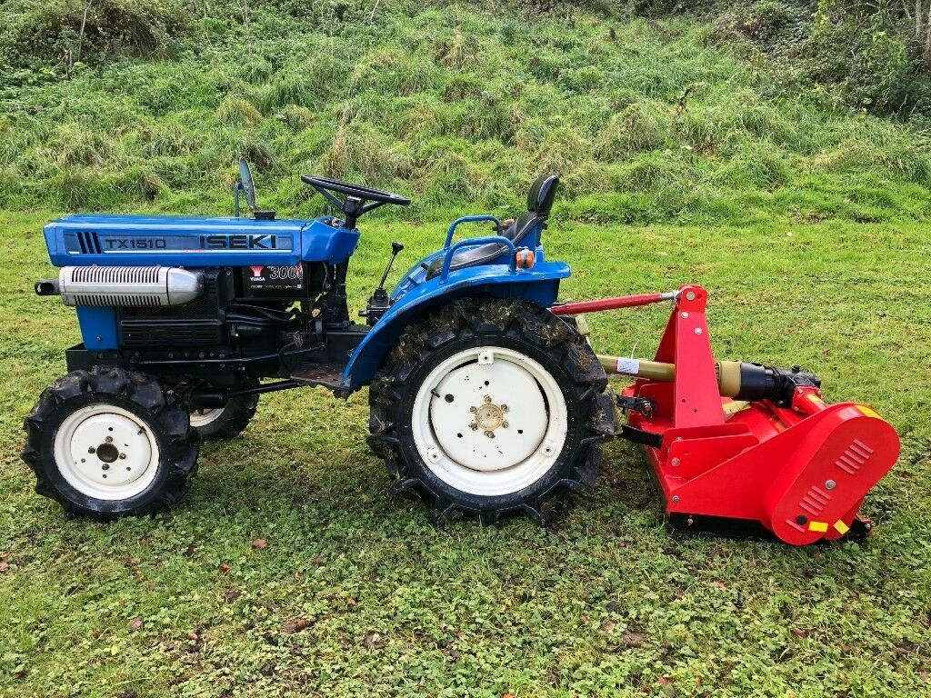 ISEKI TX1510 4WD Compact Tractor with New Flail Mower, 18HP, Excellent  Condition   in Gloucester, Gloucestershire   Gumtree