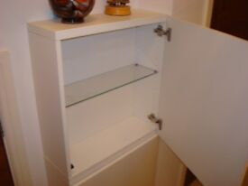 IKEA KITCHEN WALL / OR STORING UNIT IN HIGH GLOSS WHITE £40.00 EACH
