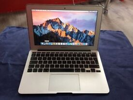 MACBOOK AIR 11inch 1.4Ghz intel core 2 duo-4GB RAM-128SSD=collection from shop E179AP-NO OFFER-E80