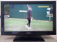 Toshiba 32BV502B 32 Inch High Definition LCD TV Gloss Black.