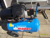 a 50 ltr air compressor with twin piston.